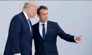 ماكرون يكشف حقيقة دعوة ظريف ويحرج ترامب