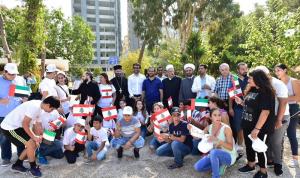 الشامسي: رسالتنا هي رسالة تسامح ومحبة للشعب اللبناني