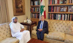 الأوضاع الراهنة بين السنيورة والسفير الإماراتي