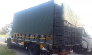 ضبط شاحنة محملة بالخضار المهربة في صيدا