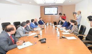 جلسة للجنة تكنولوجيا المعلومات حول استراتيجية التحول الرقمي