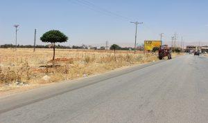محتجون قطعوا طريق اللبوة النبي عثمان