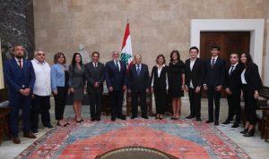 عون: لبنان لن يسقط