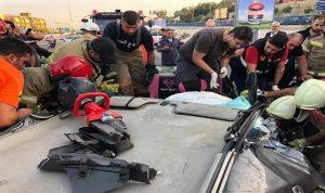 3 جرحى في حادث سير على طريق عام النخلة الكورة