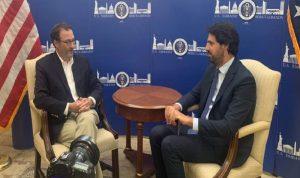 شينكر: لن نكرر خطأ 1991 بتسليم لبنان
