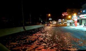توقيف شاحنة محملة بمخلفات الدجاج في عكار