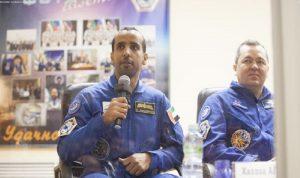 """هزاع المنصوري إلى الفضاء: """"حلم الإمارات أصبح حقيقة"""""""