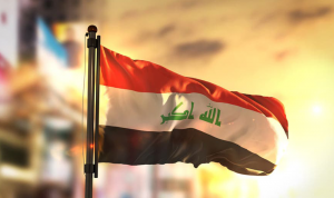 """أول """"تظاهرة عسكرية"""" تساند الحراك الشعبي في العراق"""