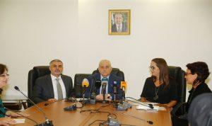 جبق أعلن وزارة الصحة خالية من التدخين