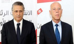 """رسميًا.. قيس سعيد ونبيل القروي الى الجولة الثانية من """"رئاسيات تونس"""""""