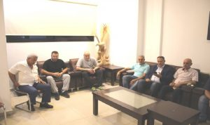 أسامة سعد التقى وفدا من أهالي موقوفي عبرا