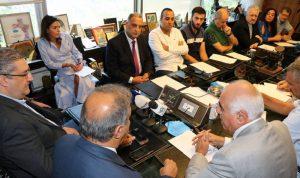 """ممثلو وسائل الإعلام: طلب رئيس """"اللبنانية"""" تطاول وندعو إلى عزله"""