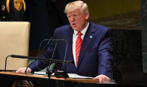 ترامب في الأمم المتحدة: النظام الإيراني قمعي يرفض السلام