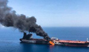 انفجار ناقلة نفط ايرانية قرب ميناء جدة