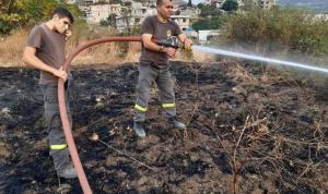 حريقان في عكار أهمدهما الدفاع المدني