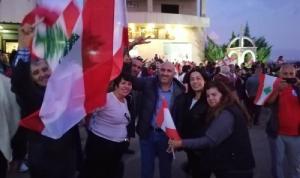 اعتصام لأهالي دير الأحمر والجوار