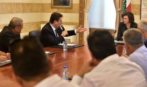 كنعان بعد لقاء الحسن مع وفد أصحاب الشاحنات: حل المطالب