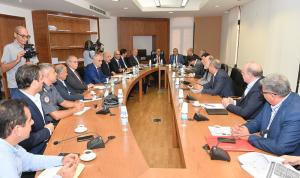 لجنة الاشغال ناقشت موضوع الصرف الصحي ومياه الامطار