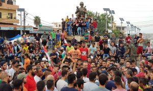 اعتصام كبير في العبدة – عكار