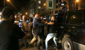 بالفيديو: مرافق شهيب أطلق النار باتجاه المتظاهرين!