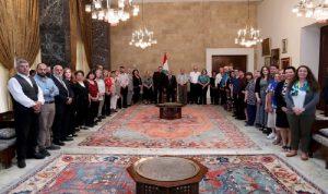 عون: لبنان جوهرة الشرق ينعم بالاستقرار والامان