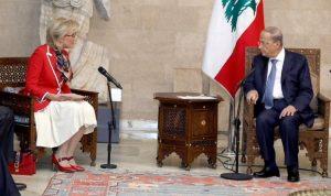 عون: لبنان لا ينتج الألغام ولا يستعملها