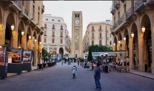 إسعاف مصابين في وسط بيروت ونقل حالة إلى المستشفى