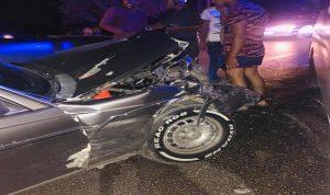 خمسة جرحى في حادث سير على طريق الضنية