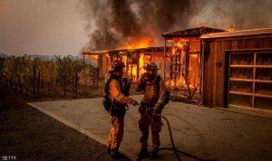"""كاليفورنيا تخسر مزيدا من الأراضي أمام """"الحرائق العنيدة"""""""