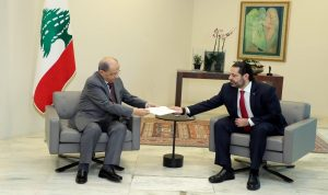 توافق مسبق بين الحريري وعون على مضمون الحكومة الجديدة