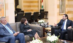 الحريري: الحكومة ملتزمة بسياسة النأي بالنفس
