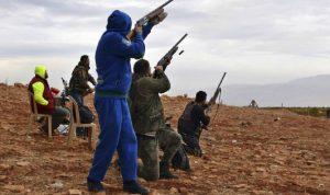 """مخالفات الصيد """"مكانك راوح""""… وتهريب""""عصافير التين"""" من سوريا إلى لبنان"""