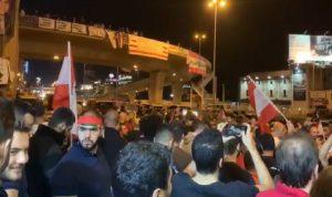 """بالفيديو: المتظاهرون يعودون الى جل الديب """"ثورة ثورة"""""""