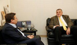 كنعان استقبل كوبيتش: الإلتزام بالاستقرار اللبناني وحماية الاقتصاد
