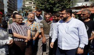 اعتصام امام مقر اتحاد بلديات الشقيف