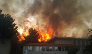 حريق المشرف.. قبرص تٌساعد لبنان بإخماده (بالفيديو والصور)