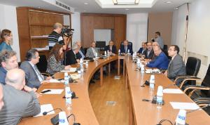 لجنة الشؤون الخارجية التقت سفير مصر: سعي إلى زيادة التبادل التجاري
