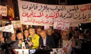 اعتصام ومسيرة للمستأجرين القدامى في الطريق الجديدة