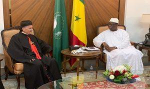 الراعي عرض العلاقات المشتركة مع الرئيس السنغالي