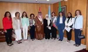 الحسن: لمشاركة المرأة اللبنانية بقوة وفاعلية في الانتخابات البلدية