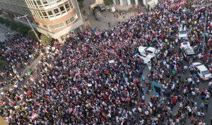 باصات تستعد للانطلاق من راشيا الى ساحة الشهداء