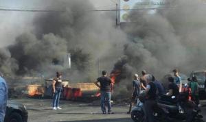 اليوم الخامس للثورة.. شللٌ وإقفال طرقات! (بالصور)