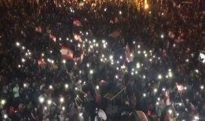 حشد بالآلاف في طرابلس (فيديو)