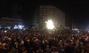 بيان لقوى الأمن: للتظاهر برقي وسقط 40 جريحًا من عناصرنا