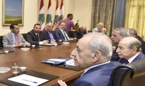 """رئيس الحكومة المستقيل """"لم يبد حماسة لحضور هذا الاجتماع"""""""