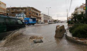بالفيديو: أمطار غزيرة ومجار سيلية في بعلبك