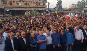 العبدة مع الثورة: الحريري ليس مكسر عصا… والجيش أهلنا