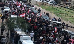 وقفة تضامنية في عين الرمانة – الشياح: لا عودة الى التوترات (فيديو)