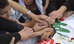 """لبنان يشيّع """"شهيد الثورة"""" علاء أبو فخر"""