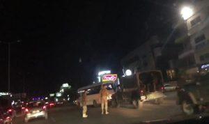 شبان حاولوا التظاهر على طريق القصر الجمهوري